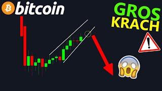 BITCOIN BITCOIN GROS KRACH EN VUEEE ALORS QUE TOUT LE MONDE EST BULL !? btc analyse technique crypto monnaie