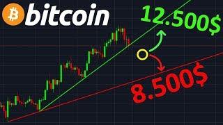 BITCOIN BITCOIN 12.500$ OU 8.500$ !? btc analyse technique crypto monnaie
