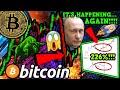 BITCOIN BULLISH DUMP!!!! INSANE 226%+ FRACTAL REAPEATING!!! RUSSIA PRO BTC?!!