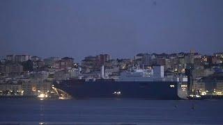SANTANDER Le cargo saoudien, empêché d'atteindre Le Havre, attend dans le port de Santander