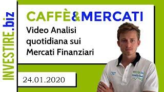 EUR/USD Caffè&Mercati - Nuovi minimi sul cambio forex EUR/USD