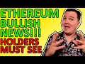 ETHEREUM BULLISH NEWS TODAY!!! ETH ETF CONFIRMED!!! ETHEREUM PRICE PREDICTION EXPLAINED