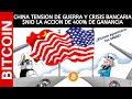 CHINA TENSION DE GUERRA Y CRISIS BANCARIA - $NIO 400% DE GANANCIA - ¿BITCOIN AGUANTARA LOS $9000?