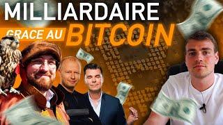 BITCOIN Milliardaire grâce au Bitcoin | 3 histoires incroyables