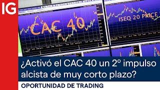 CAC40 INDEX ¿Ha activado el CAC 40 francés un segundo impulso alcista de corto plazo? | Oportunidad de trading