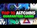 TOP 10 ALTCOINS Q3-Q4 2020 FOR 1000X GAINS!!!