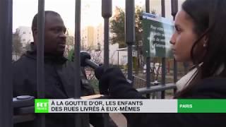 Dans le 18e arrondissement, ces enfants des rues livrés à eux-mêmes