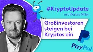 BITCOIN Krypto Update: Profitieren Bitcoin & Co von PayPal und Ant Financial? | Börse Stuttgart