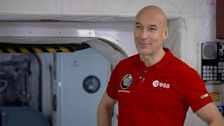 Astronaut Luca Parmitano discusses space travel in Global Conversation