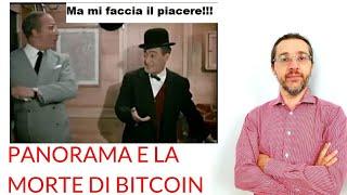 BITCOIN Quando Panorama disse che Bitcoin era finito (due anni fa) 😂😂😂