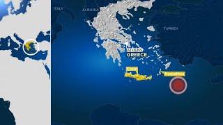 Grecia, terremoto di magnitudo 6.0 al largo dell'isola di Karpathos