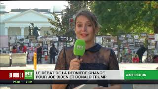 Débat de la dernière chance pour Joe Biden et Donald Trump