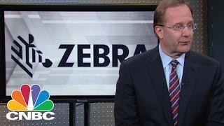 ZEBRA TECHNOLOGIES Zebra Technologies CEO: Strong Verticals | Mad Money | CNBC