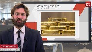 GOLD - USD Bourse - Gold, cassure haussière de l'oblique long-terme - IG 10.06.2019
