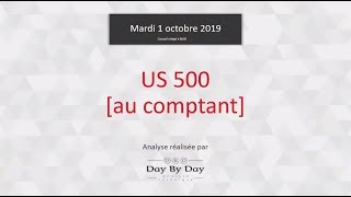 S&P500 INDEX Idée de trading : achat US 500 [au comptant]