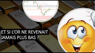 GOLD - USD Or et argent: Et si l'or ne revenait jamais plus bas? (27/03/21)