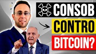 BITCOIN Consob contro Bitcoin ? Sei italiano, devi saperlo