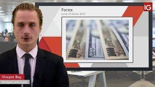 USD/JPY Bourse - USDJPY, entre Espoir et craintes - IG 25.02.2019