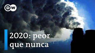 Récord de concentración de gases de efecto invernadero