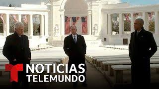 Expresidentes de EE.UU. dedican un mensaje a Joe Biden y Kamala Harris