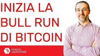 BITCOIN Bitcoin: sta iniziando la bull run (forse)