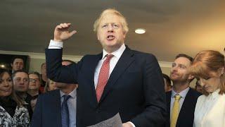 Johnson quer voto do Brexit antes do Natal