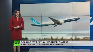 BOEING COMPANY THE Boeing boasts its new 777-9X airplane