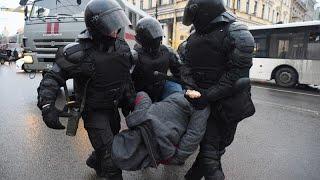 Russland: Nawalny-Anhängerschaft demonstriert
