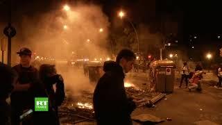 Nuit de tensions à Barcelone pour le troisième soir consécutif