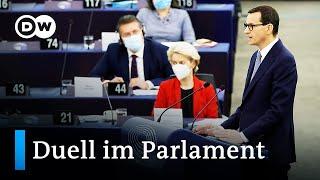 Streit zwischen Polen und der EU   DW Nachrichten