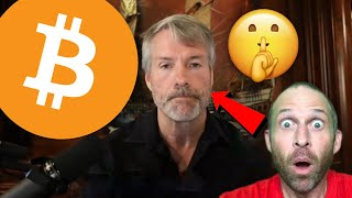 BITCOIN MICHAEL SAYLOR'S DIRTY LITTLE BITCOIN SECRET!!!!! MICROSTRATEGY CEO REVEALS HIS BTC EXIT STRATEGY!!!