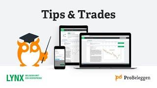 AMP LIMITED LYNX & Probeleggen - Tips & Trades