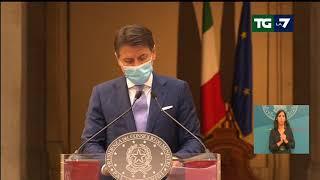 """Dpcm, Giuseppe Conte: """"Bar, gelaterie, pasticcerie e ristoranti chiuderanno alle ore 18"""""""
