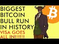 BIGGEST BITCOIN BULL RUN IN HISTORY COMING!!! VISA ALL IN ON CRYPTO IN 2020!