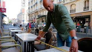 Lifting restrictions: France's bars and restaurants return with new safety rules