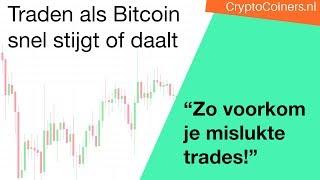 BITCOIN Daytraden als Bitcoin snel stijgt of daalt