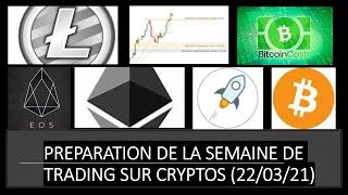 NEO Préparation de la semaine de trading sur Bitcoin, Ethereum, Litecoin, Neo, EOS, Stellar (CHAPITRÉ)