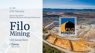 AMP LIMITED Filo Mining / Pareto Securities' Battery Metals & Mining Conference