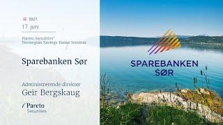 SPAREBANKEN SOR [CBOE] Sparebanken Sør: Konkurransebildet, bærekraft og langsiktig strategi
