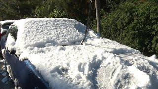 """""""Leandros"""" bringt Schnee und Kälte nach Griechenland"""