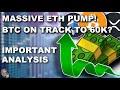URGENT ETHEREUM PUMP UPDATE! | BTC TO 60K SOON?