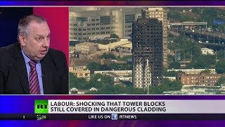 Labour: Shocking that tower blocks still covered in dangerous cladding