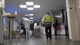 Covid-19: ospedali in difficoltà