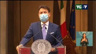 """Dpcm, Giuseppe Conte: """"Il Paese non può più permettersi un nuovo lockdown generalizzato"""""""