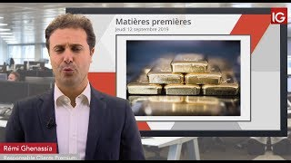 GOLD - USD Bourse - GOLD, pullback sur le Fibonacci 50.0% - IG 12.09.2019