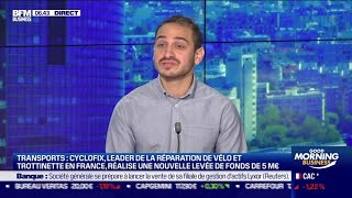 Alexis Zerbib (Cyclofix): Cyclofix lève 5 millions d'euros