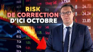 EUR/USD Risk de correction d'ici Octobre EUR/USD + Equities