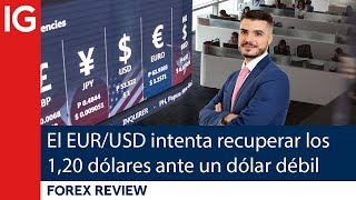 EUR/USD El EUR/USD intenta recuperar los 1,20 DÓLARES ante la DEBILIDAD del dólar | Repaso de Forex