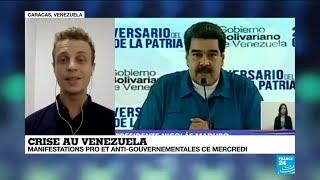 """Venezuela : """"Maduro accuse Washington d'avoir ordonné un coup d'État fasciste"""""""