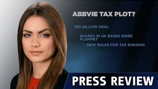 ABBVIE INC. AbbVie遭遇税务调整 - 15.10.2014 - Dukascopy Press Review